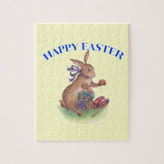 Happy easter bunny Puzzle