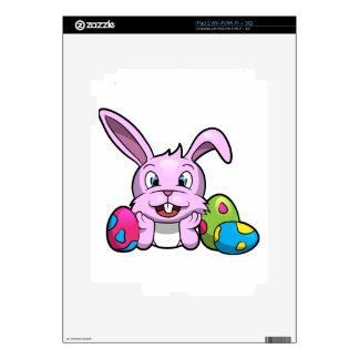 Happy Easter Bunny Skins For iPad 2