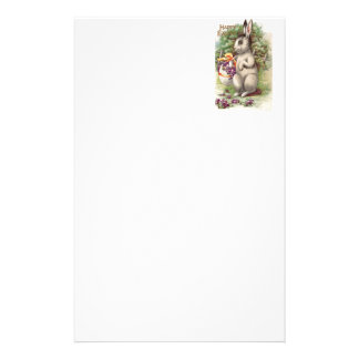 Happy Easter Bunny Stationery