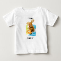 Happy Easter Bunny Tee for toddlers