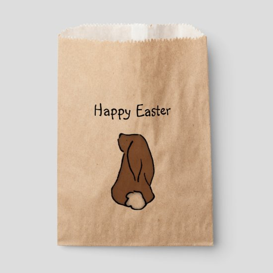 Happy Easter Bunny Treat Bag