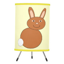 Happy Easter Bunny Tripod Lamp