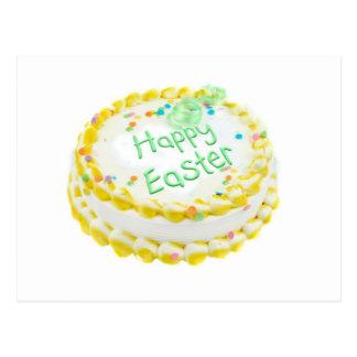 Happy Easter cake Postcard