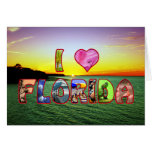 Happy Easter Callie, Picturesque I *Heart* Florida Greeting Card