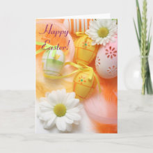 Happy Easter! Card - very pretty colorful easter card!