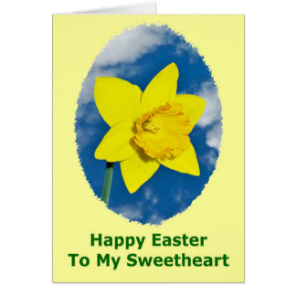 Happy Easter Card for Lover, Boyfriend, Girlfriend