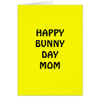 HAPPY EASTER CARD FOR MOM