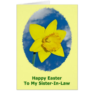 Happy Easter Card for Sister-In-Law