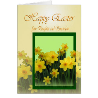 Happy Easter Card from Daughter and son in law