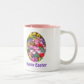 Happy Easter Cards & Gifts Two-Tone Coffee Mug