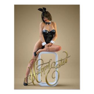 Happy Easter Carlotta 4.25x5.5 Paper Invitation Card