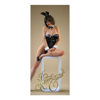 Happy Easter Carlotta 4x9.25 Paper Invitation Card