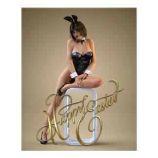 Happy Easter Carlotta Flyer Design