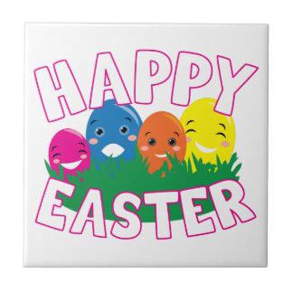Happy Easter Ceramic Tile