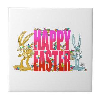 Happy Easter. Ceramic Tile
