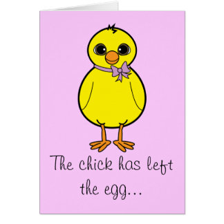 Happy Easter Chick Card for Sister