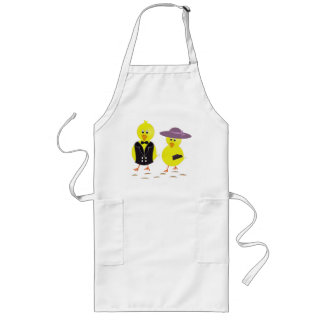 """""""HAPPY EASTER"""" CHICKS LONG APRON"""