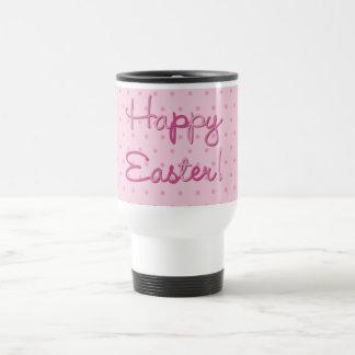 Happy Easter Chicks Pink Mug