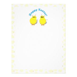 Happy Easter Chicks W/Bunny Ears Flyer