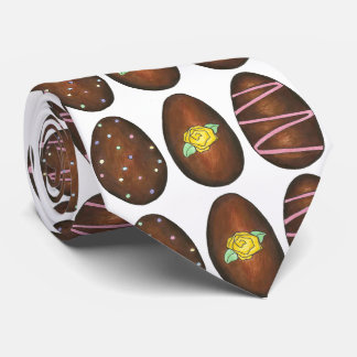 Happy Easter Chocolate Buttercream Egg Eggs Tie