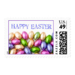 Happy Easter Chocolate Eggs Postage Stamp