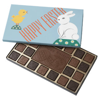 Happy Easter Chocolates 45 Piece Assorted Chocolate Box