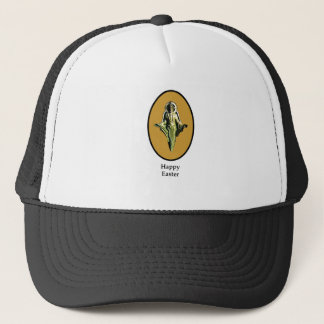 Happy Easter Christ Image Canterbury Gold The MUSE Trucker Hat