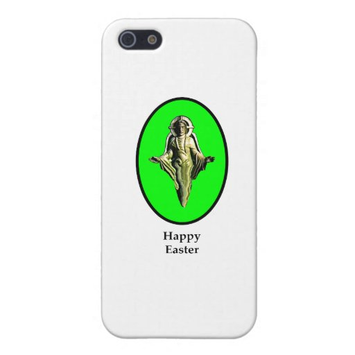 Happy Easter Christ Image Canterbury Green The MUS iPhone 5 Case