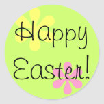 Happy Easter! Classic Round Sticker