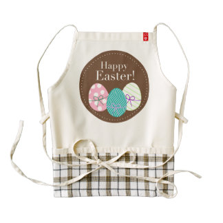 Happy Easter clipart Zazzle HEART Apron