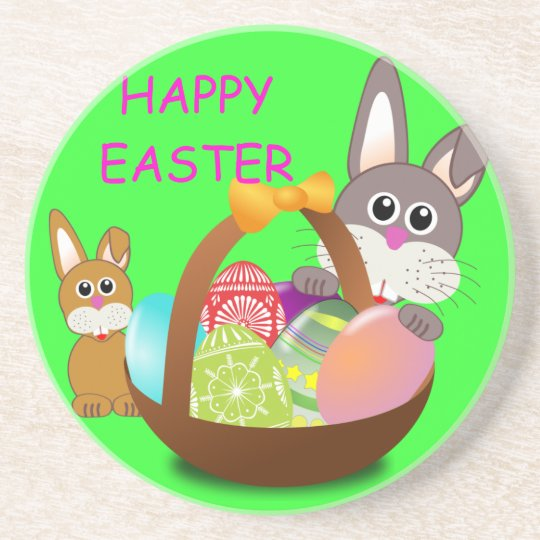 HAPPY EASTER COASTER