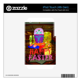 Happy Easter Colors iPod Touch 4G Skin