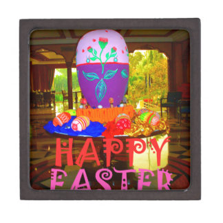 Happy Easter Colors Jewelry Box