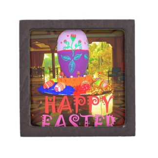 Happy Easter Colors Keepsake Box