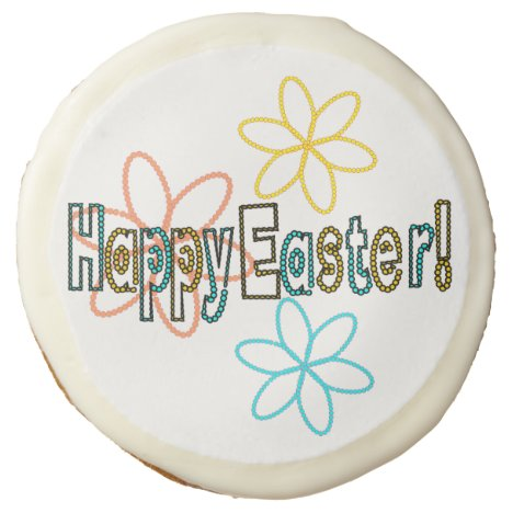 Happy Easter cookie
