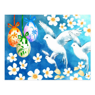 Happy Easter. Customizable Easter Postcards