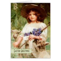 Happy Easter. Customizable Fine Art Easter Cards