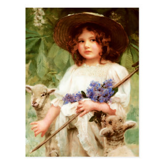 Happy Easter. Customizable Fine Art  Postcards