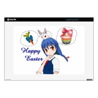 """Happy Easter (Customizable) Skin For 15"""" Laptop"""