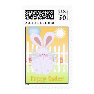 Happy Easter Cute as a Bun Postage