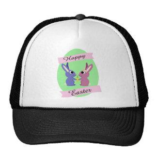 Happy Easter! Cute bunnies Trucker Hat
