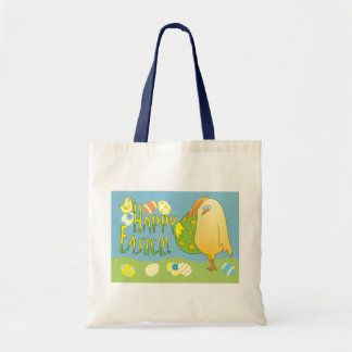 Happy Easter Cute Chicken with Egg Children's Bag