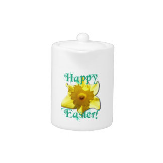 Happy Easter, Daffodil 01.2.2.T Teapot