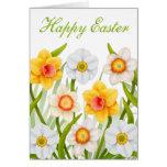 Happy Easter Daffodils Card