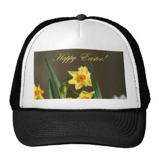 Happy Easter Daffodils  hat