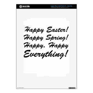 happy Easter Decal For iPad 3