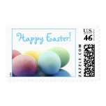Happy Easter Decorated Eggs Stamps