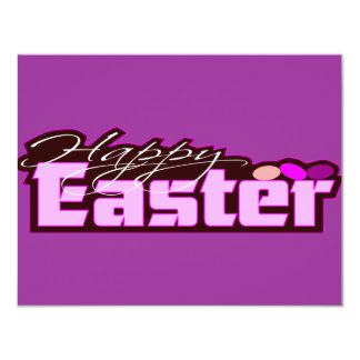HAPPY EASTER DESIGN CARD