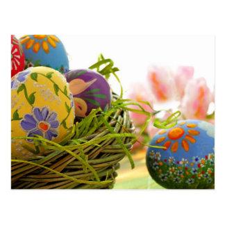 Happy Easter design Postcard