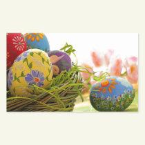 Happy Easter design Rectangular Sticker